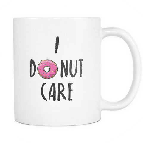 I donut care mug - Design Resources