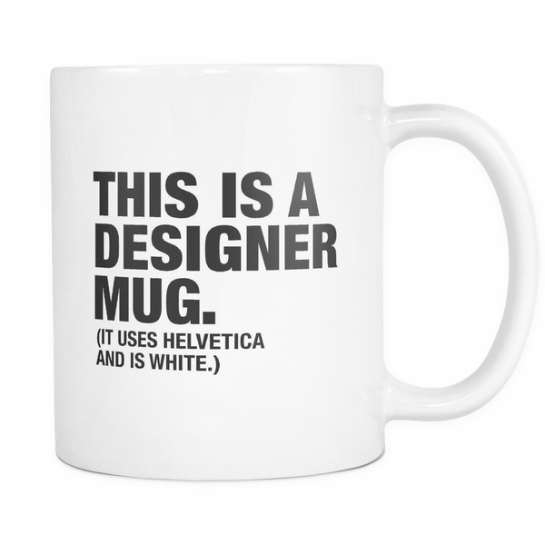 This is a designer mug -  - 1