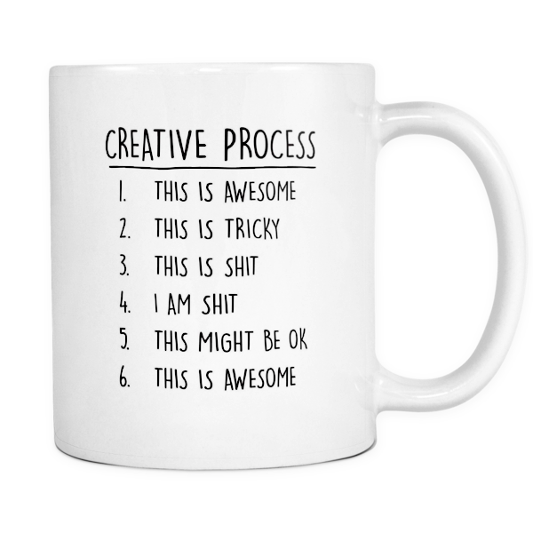 Creative process mug - Design Resources
