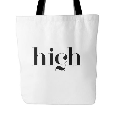 High 5 tote bag - Design Resources