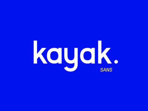 Kayak Sans - Free Typeface - Design Resources