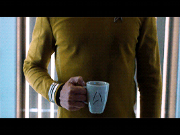 Captain Kirk's beyond mug - Design Resources