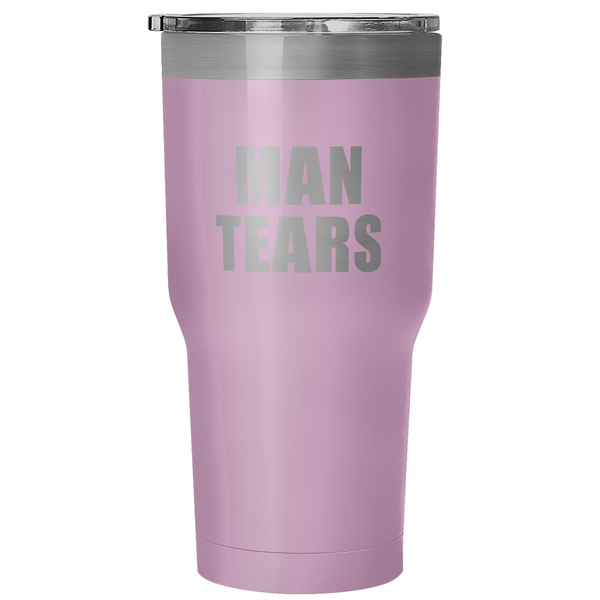 Man Tears 30 Ounce Vacuum Tumbler - Design Resources