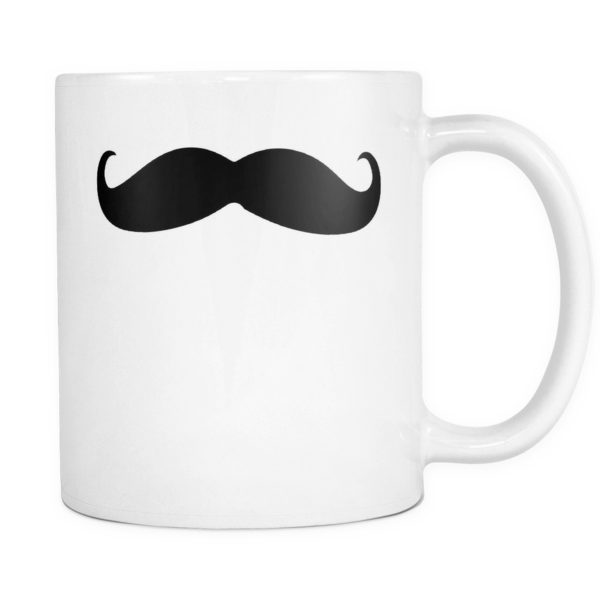 Moustache mug - Design Resources