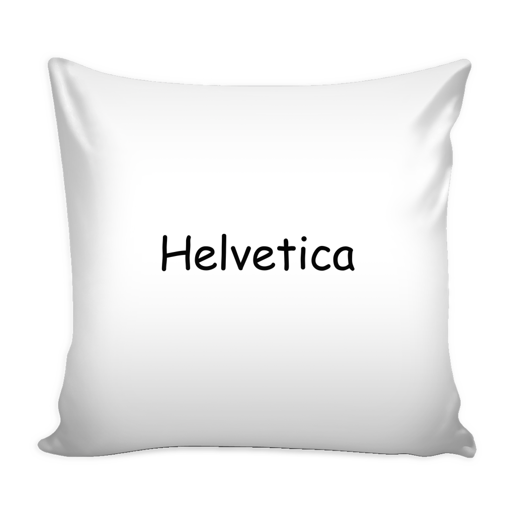 Helvetica comic sans pillow - Design Resources