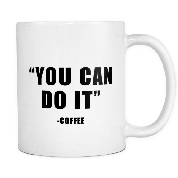 You can do it mug - Design Resources