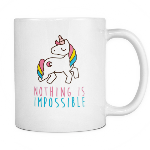 Nothing is impossible mug - Design Resources