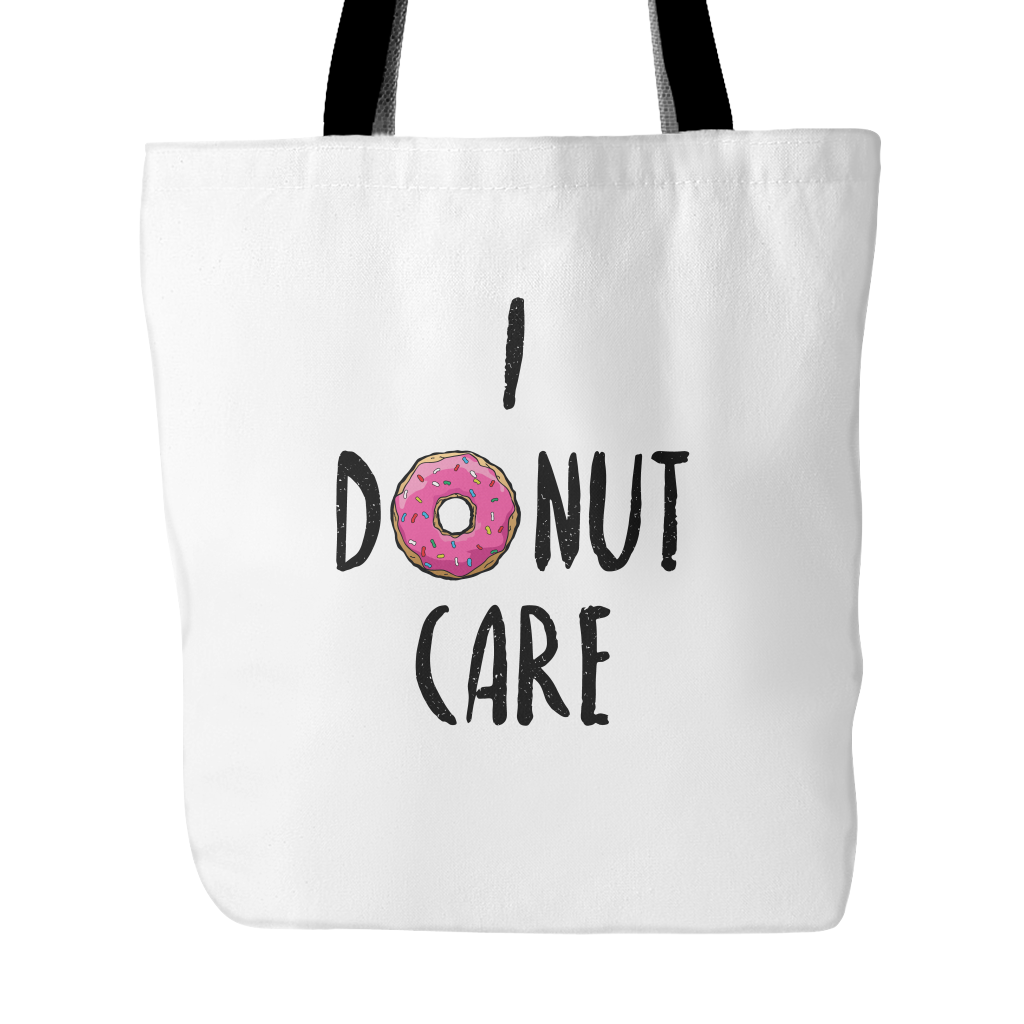 I donut care tote bag - Design Resources