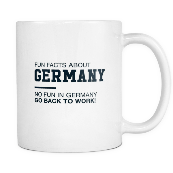 Fun facts about Germany mug