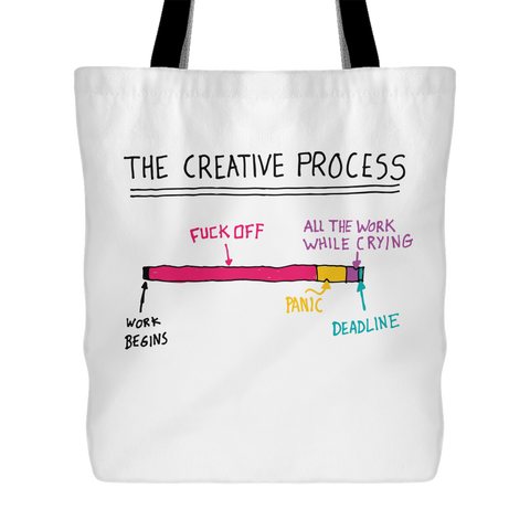 The Creative Process Tote Bag