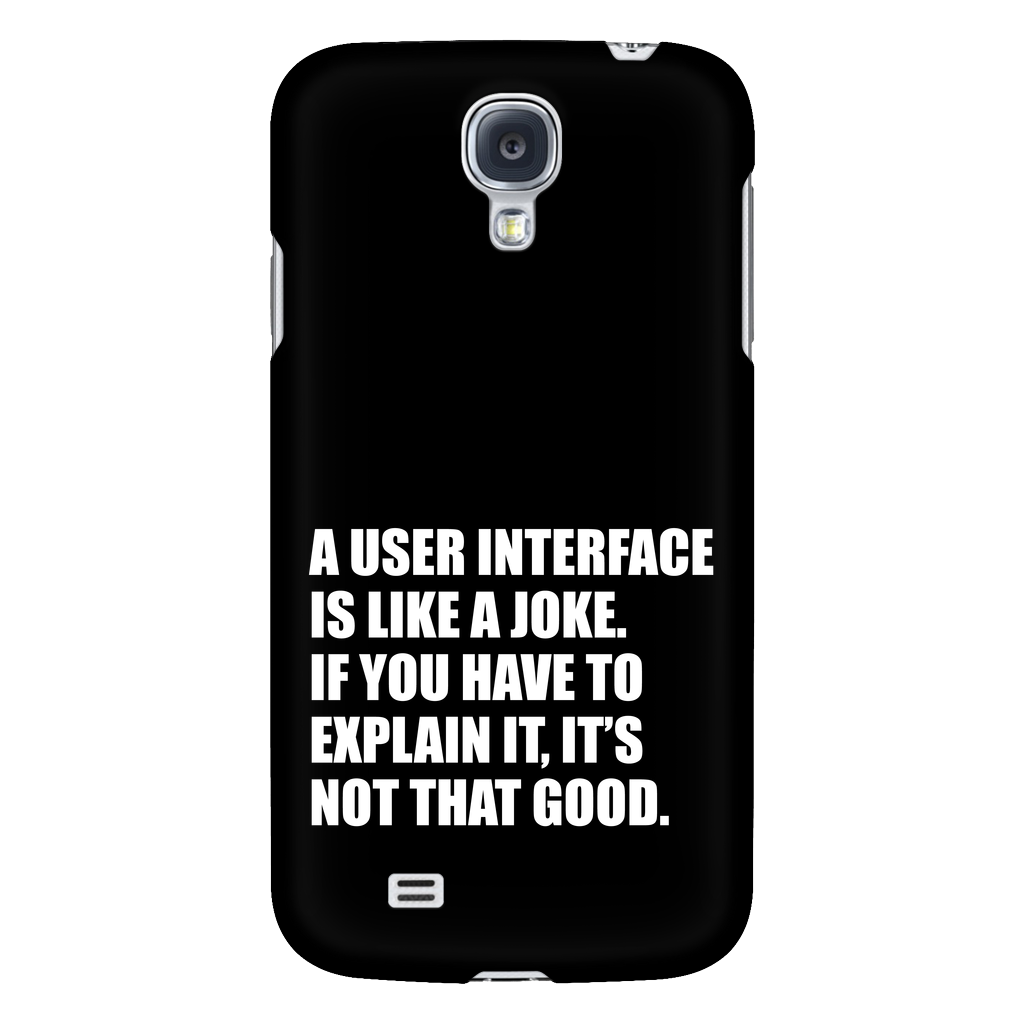UI Design Phone Case