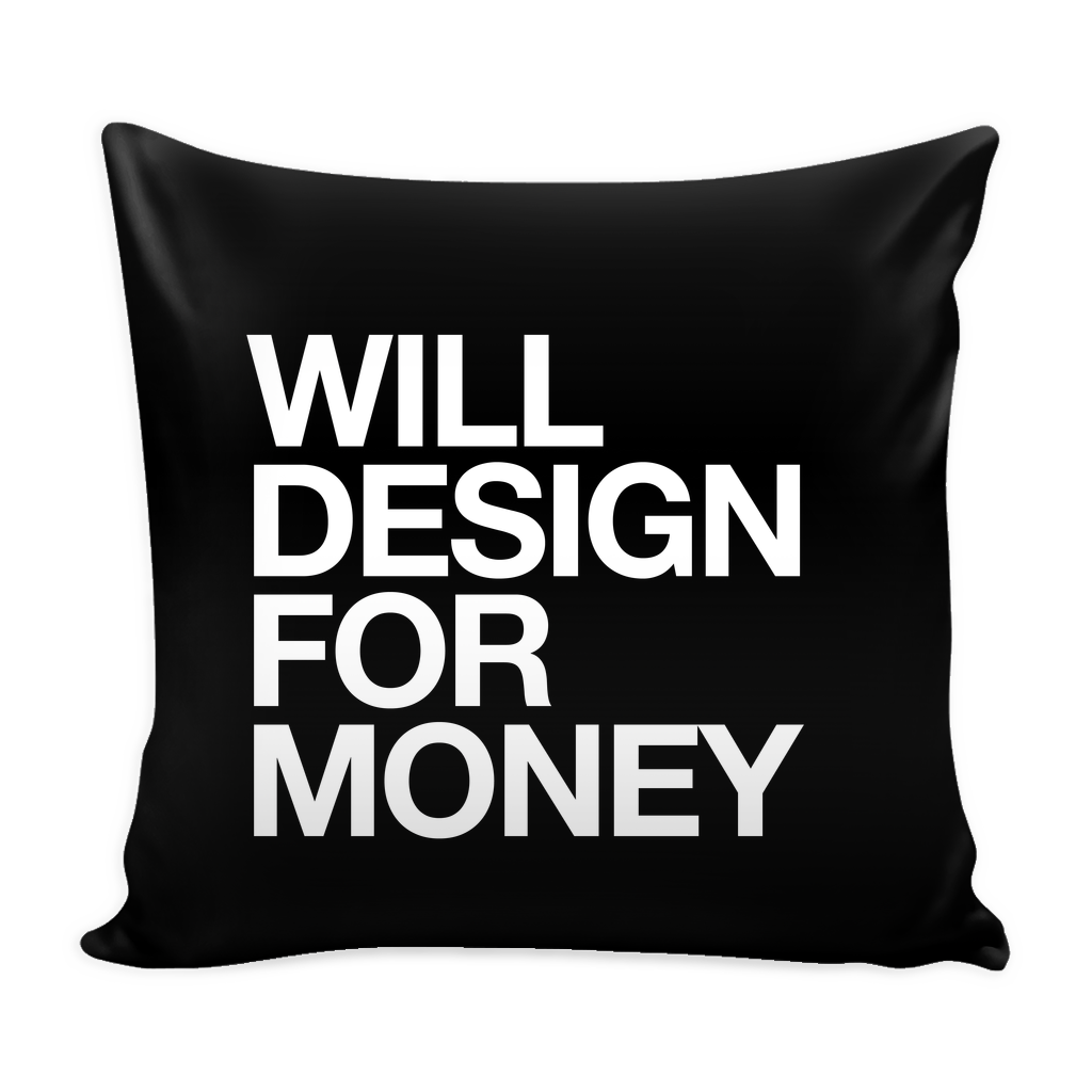 Will design for money pillow - desket.
