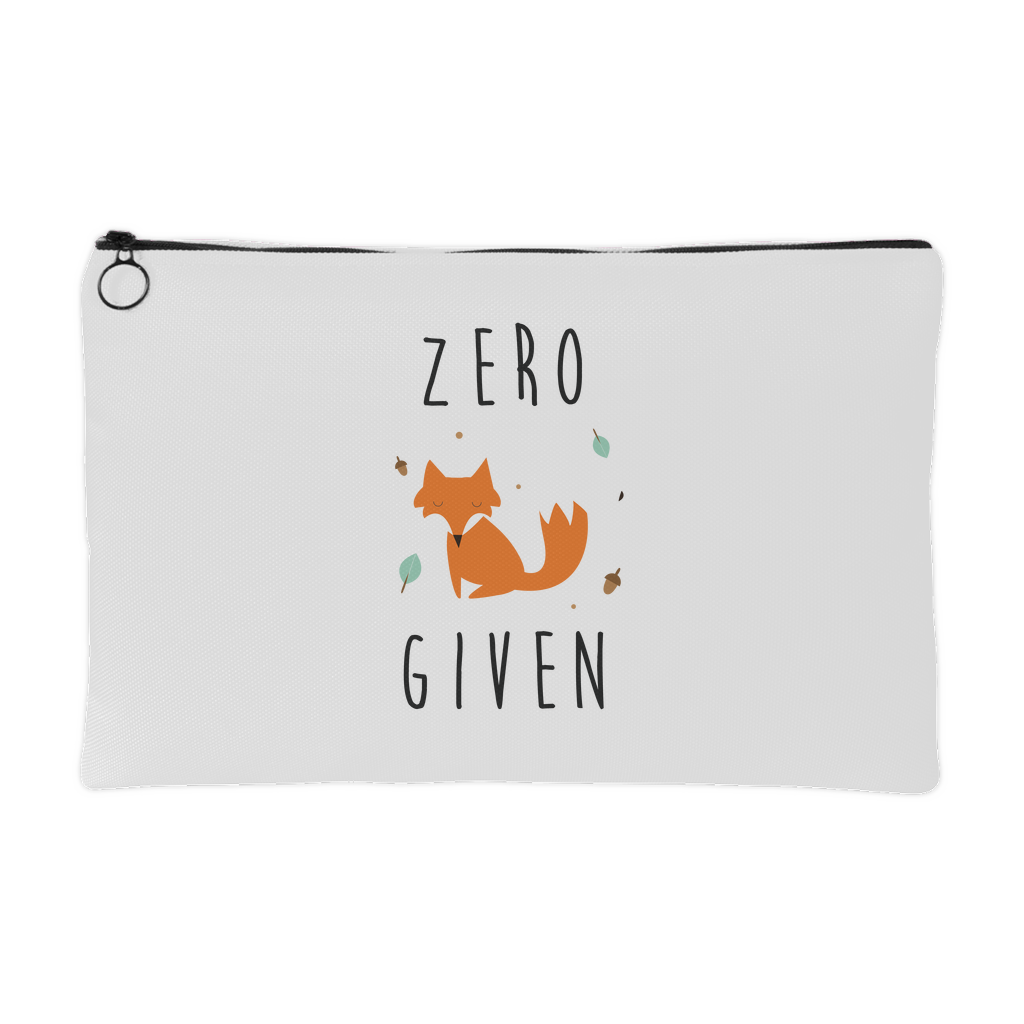 Zero fox given pouch