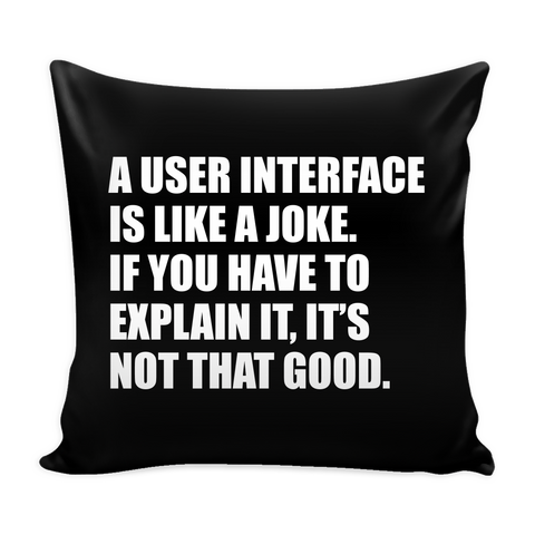 UI Design Pillow
