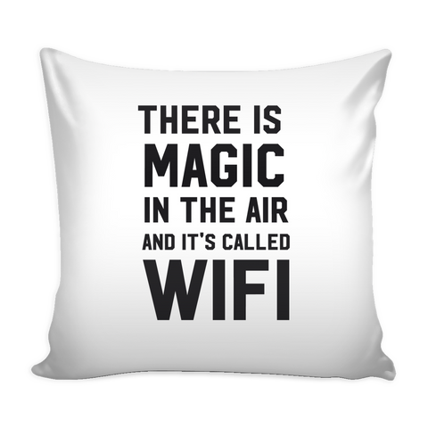 There is magic in the air and it's called wifi pillow