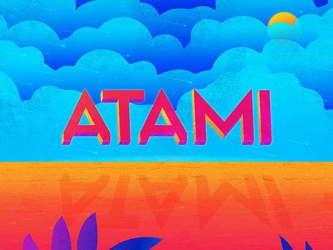 Atami: A geometric and modern sans-serif font - Design Resources