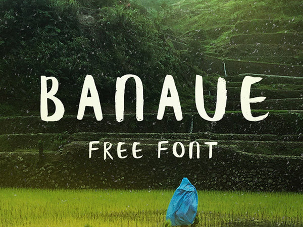 Banaue: Handwritten brush font - Design Resources