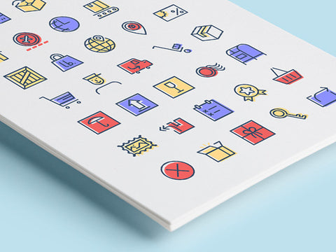 35 Free checkout & delivery icons - Design Resources