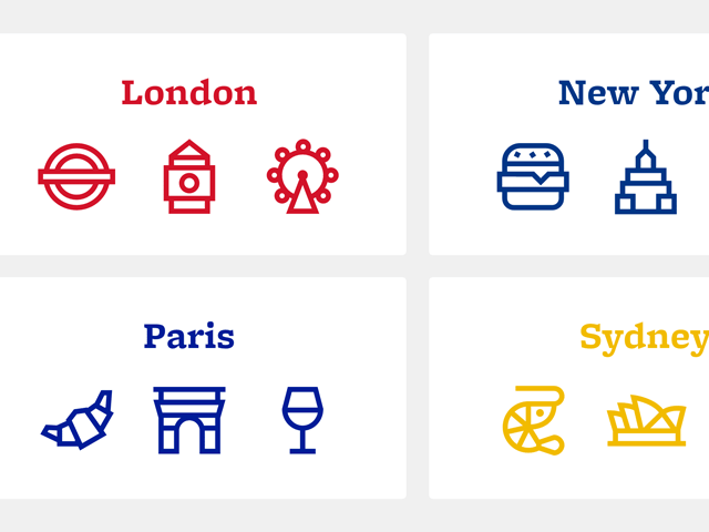 Citysets: A free collection of city-based icons - Design Resources