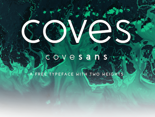 Coves - Free Font - Design Resources