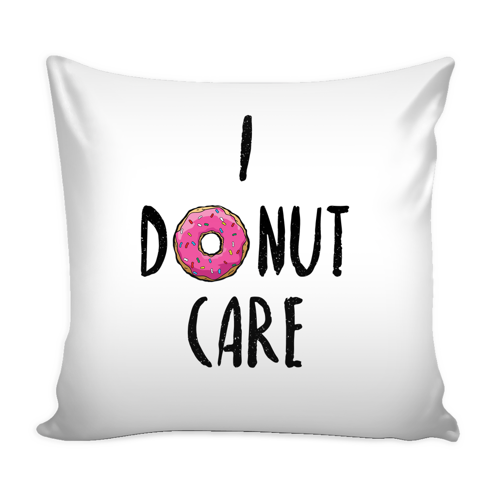 I donut care pillow - Design Resources