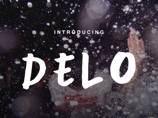 Delo Font - Design Resources