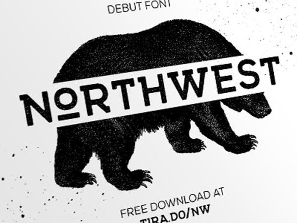 FREE FONT - NORTHWEST - Design Resources