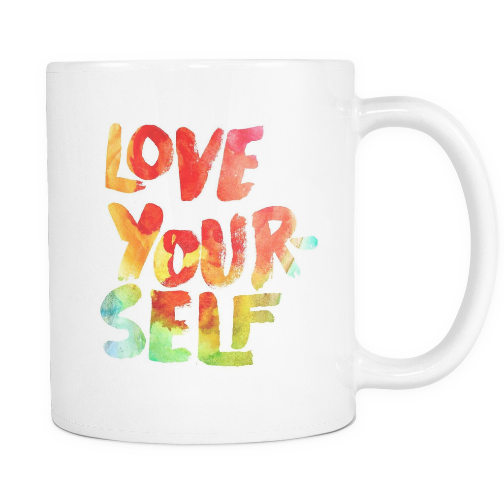 Love yourself mug - Design Resources