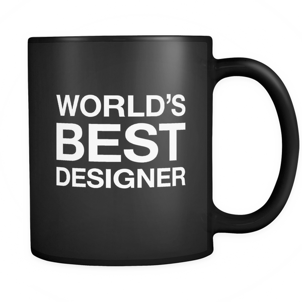 World's best designer mug