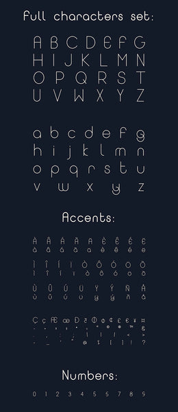 Solaris Eclipse font family - Design Resources