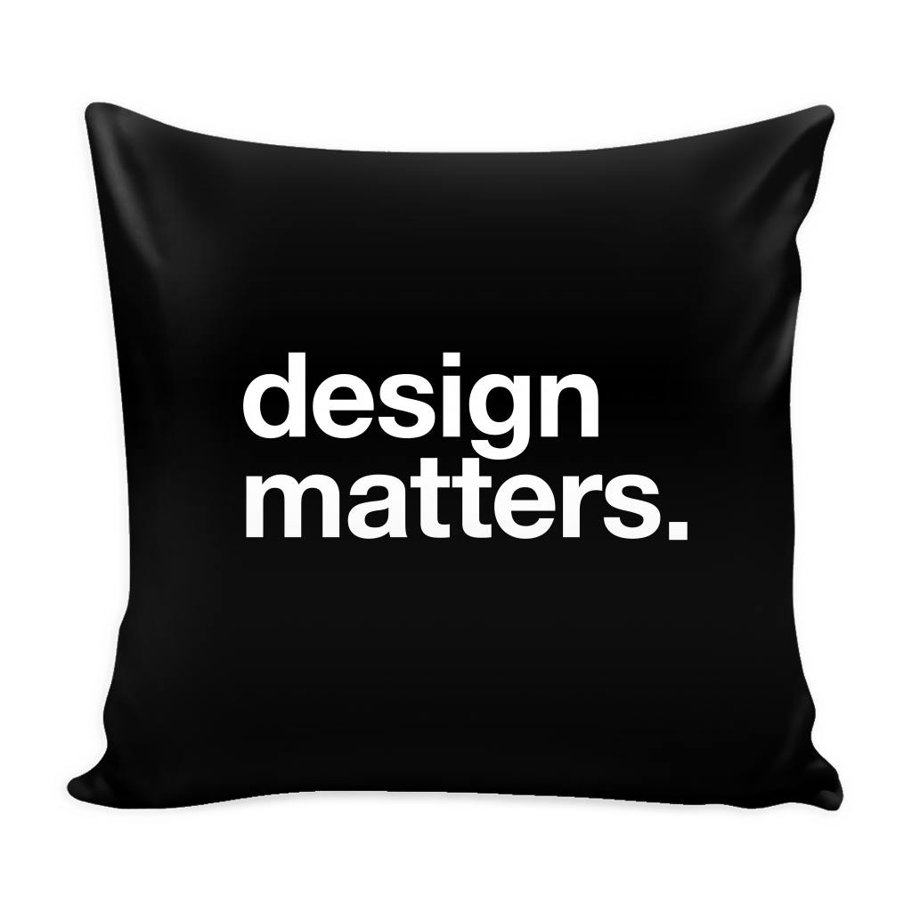 Design matters pillow - Design Resources
