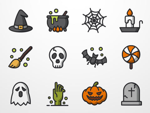 Halloween Icon Set (Sketch) - Design Resources
