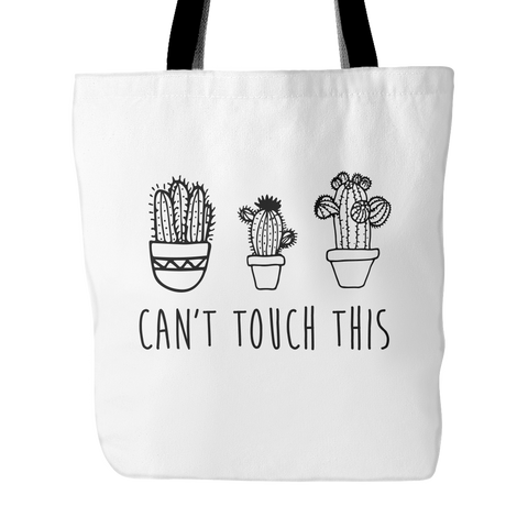 Can't touch this tote back - Design Resources