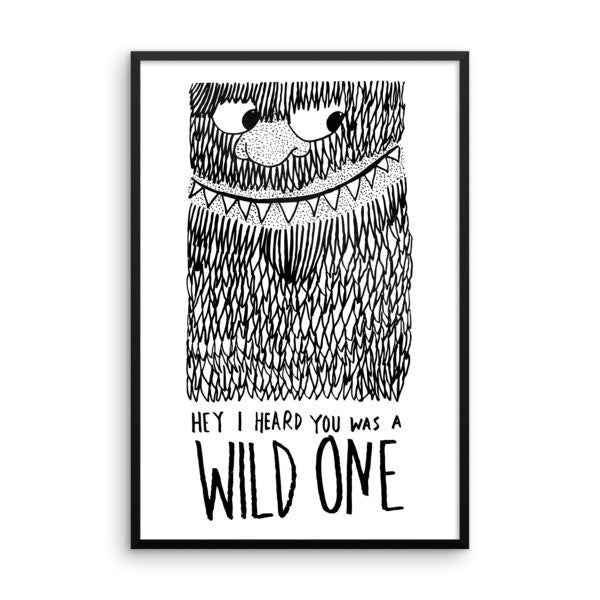 Wild One Framed poster - desket. - 14
