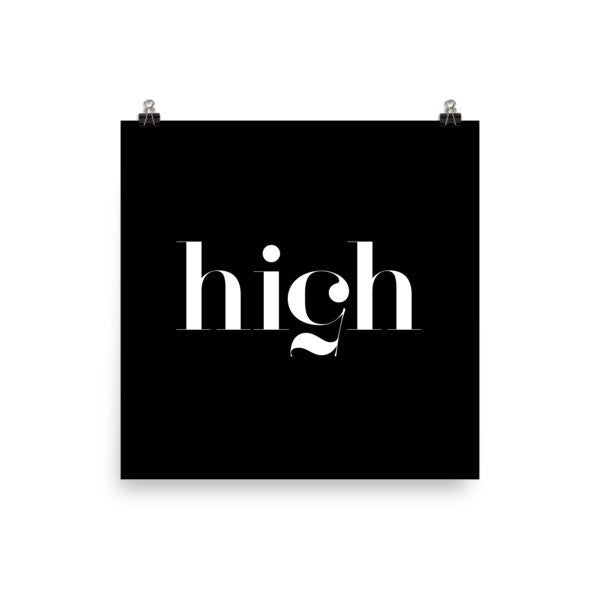 High 5 poster - Design Resources