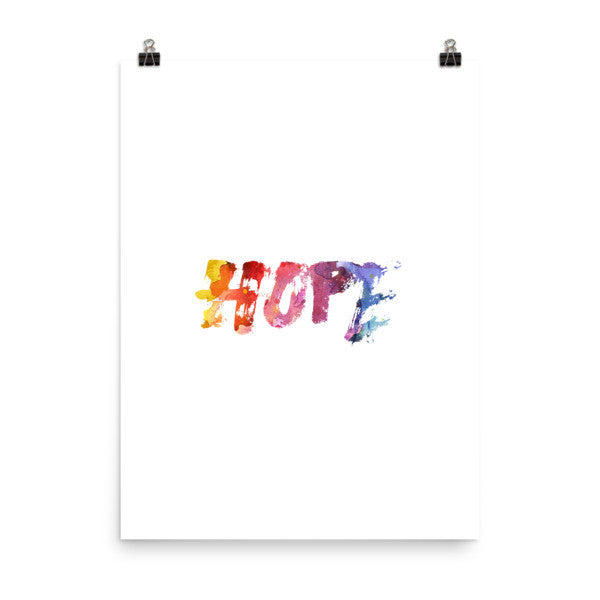 Hope Poster - Design Resources