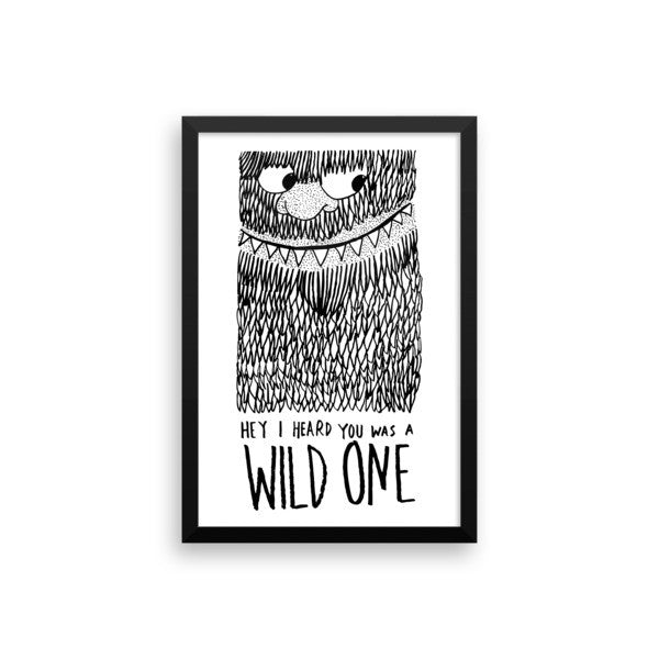 Wild One Framed poster - desket. - 13