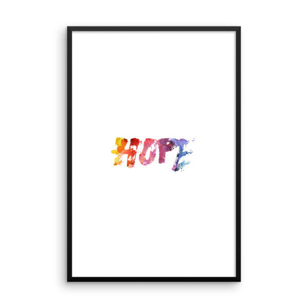 Hope Framed poster - Design Resources