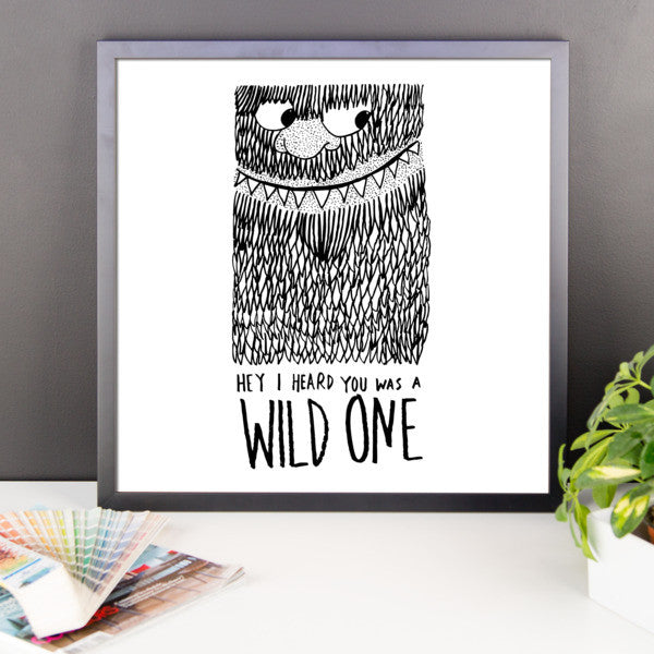Wild One Framed poster - desket. - 10