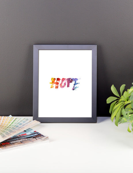 Hope Framed poster