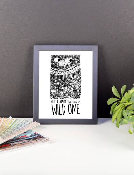 Wild One Framed poster - desket. - 2