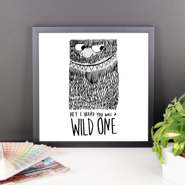 Wild One Framed poster - desket. - 7