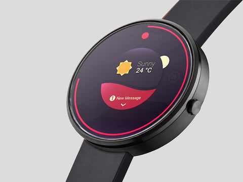 Photorealistic smartwatch mock-up - Design Resources