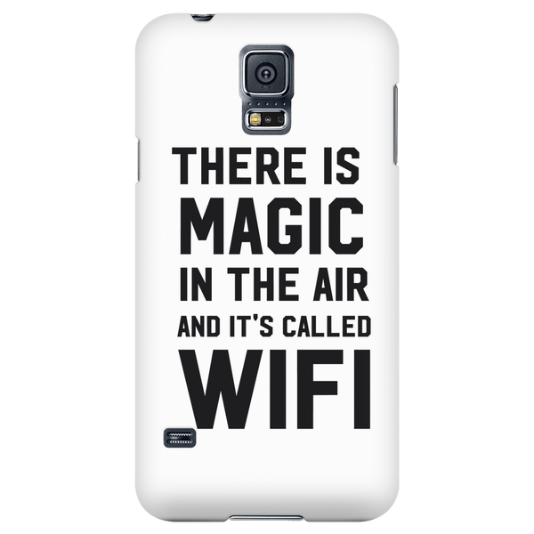 There is magic in the air and it's called wifi phone case