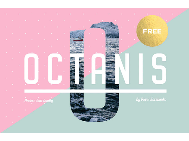 Octanis: A full and free font-family