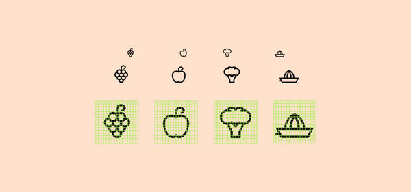 30 free food icons - Design Resources