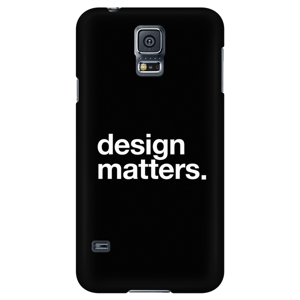 Design matters phone case - Design Resources