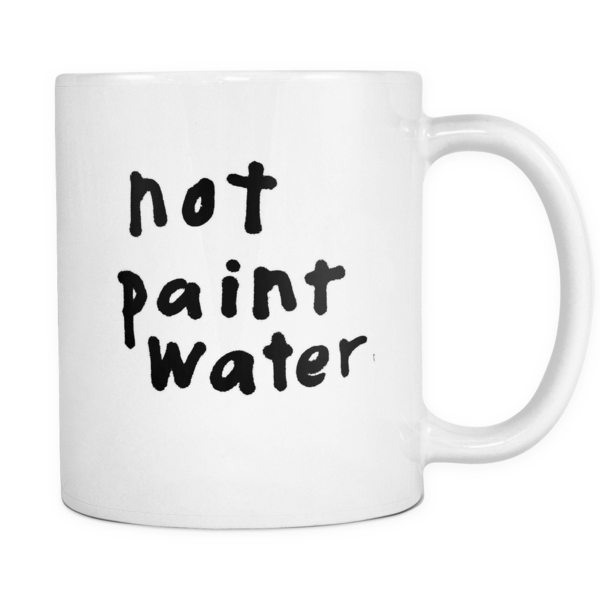 Not paint water mug - Design Resources