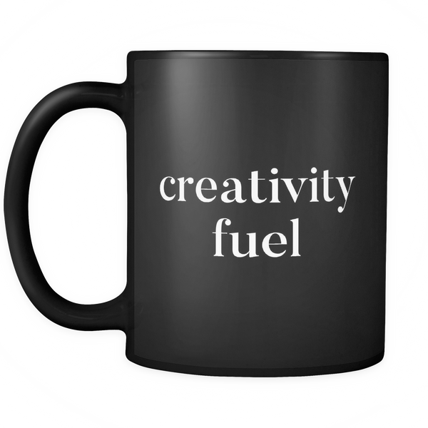 Creativity fuel mug