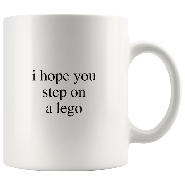 I hope you step on a logo mug - Design Resources